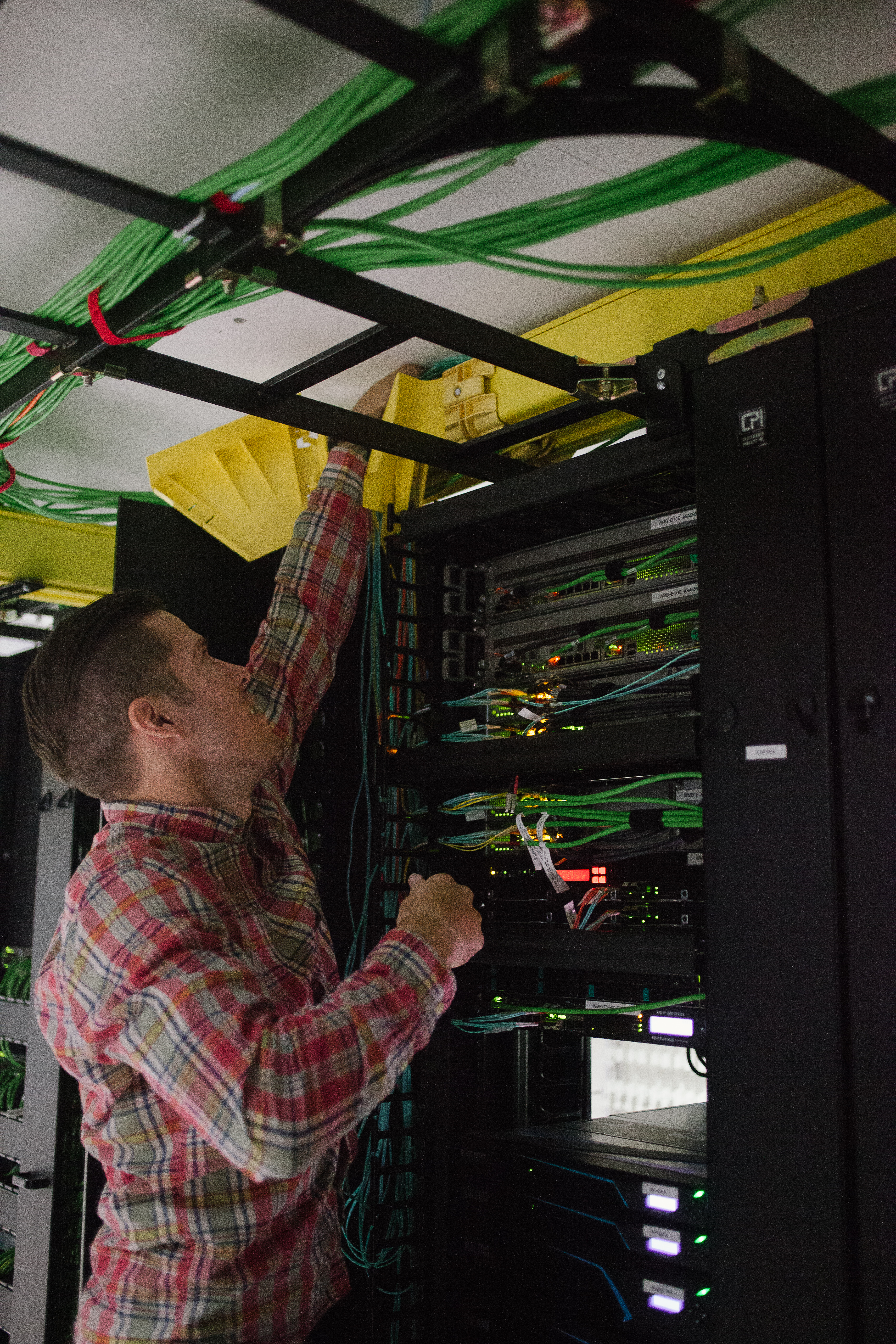 Inside the city and county of Denver's data center. With a 2015 estimated population of 682,545, Denver ranks as the 19th most-populous U.S. city.