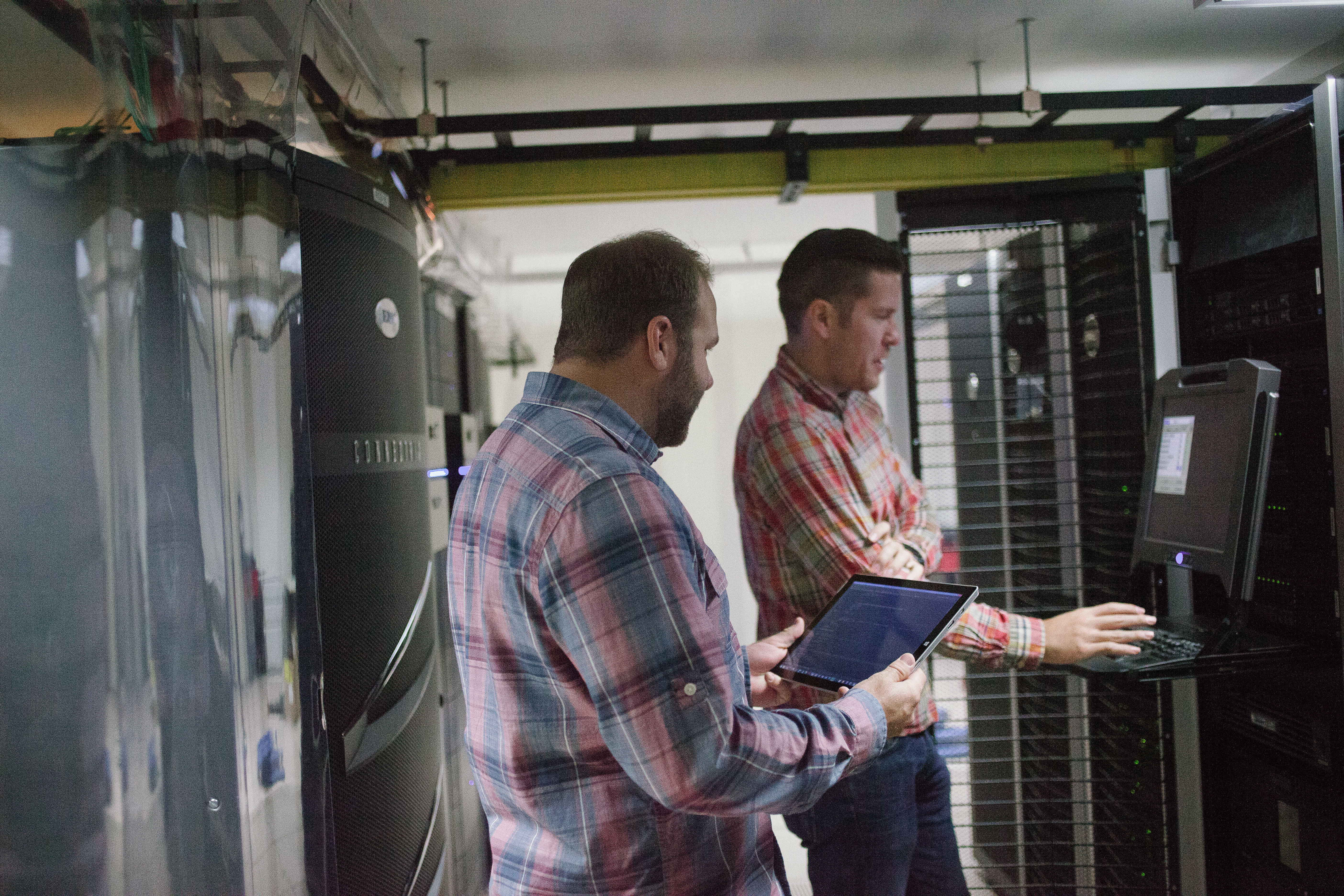 Two Denver engineers discuss the potential impact of a proposed data center hardware configuration change. Colorado has the highest number of registered voters in the United States.