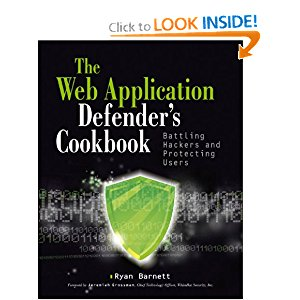Web Application Defender's Cookbook: CCDC Blue Team Cheatsheet