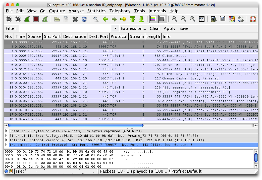 How To Decrypt Ruby SSL Communications with Wireshark