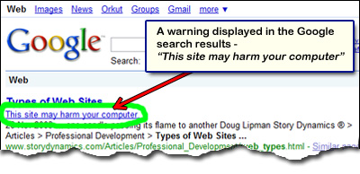 This_site_may_harm_your_computer_google_warning