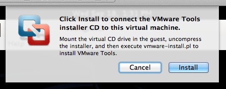 Installing VMware Tools on Kali Linux and Some Debugging