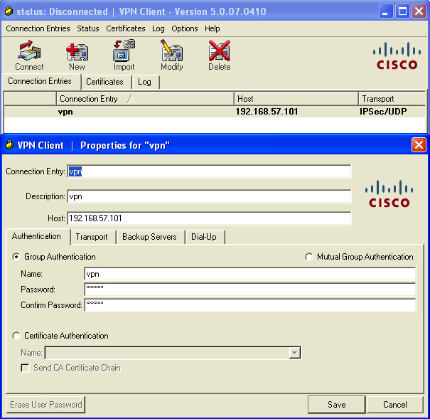 Cisco-client