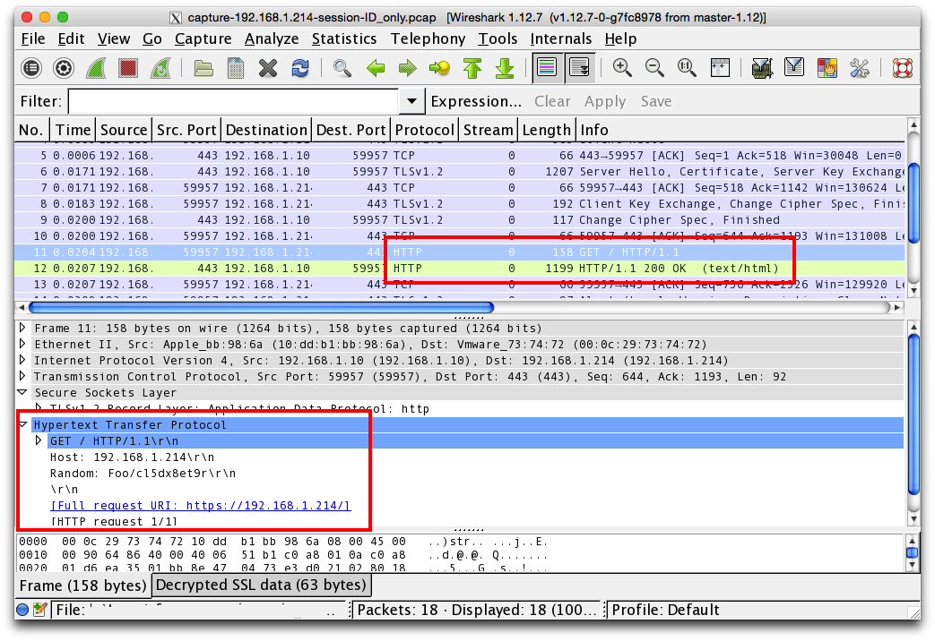 How To Decrypt Ruby SSL Communications with Wireshark | Trustwave