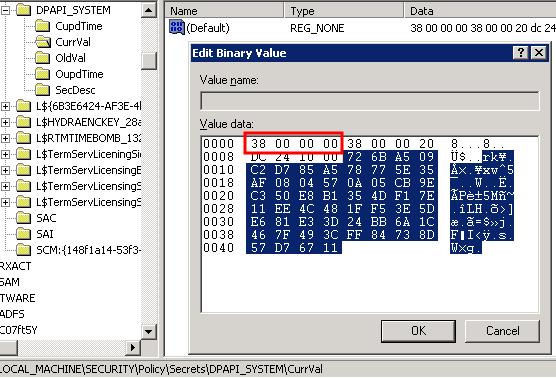 Dumping LSA Secrets on NT5 x64 | Trustwave | SpiderLabs