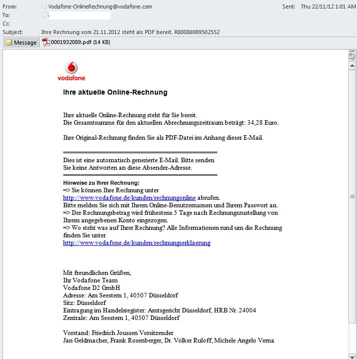 An Analysis Of A Fake Vodafone Bill Pdf File Trustwave