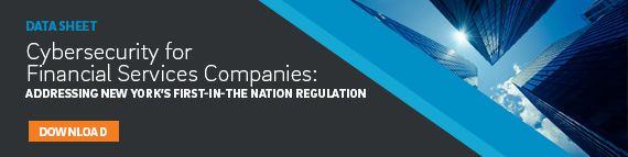 Financial Services Cybersecurity Regulation